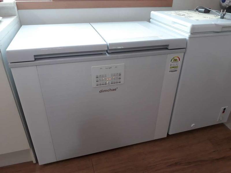상품사용후기 제품리뷰 위니아 딤채 2018년형 뚜껑식 153L 김치 냉장고