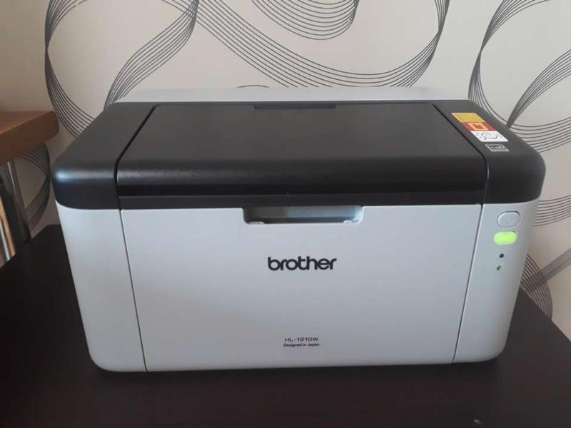 브라더 흑백 무선 레이저 프린터 HL-1210