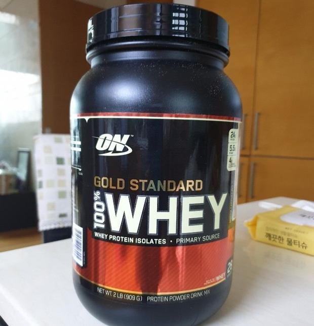 상품사용후기 제품리뷰 옵티멈 뉴트리션 100 % 유장 단백질 파우더, 익스트림 밀크 초콜릿